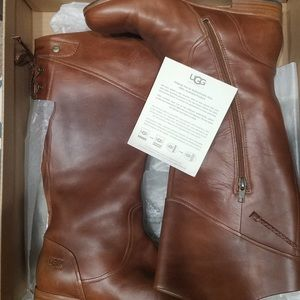 UGG Annabellle 1923 Chestnut Leather Boots